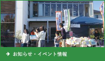 お知らせ・イベント情報